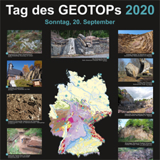 Poster zum Tag des Geotops 2019